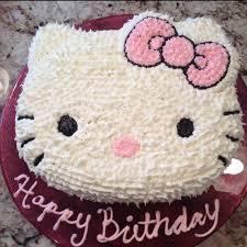 Birthday Cake With Hello Kitty