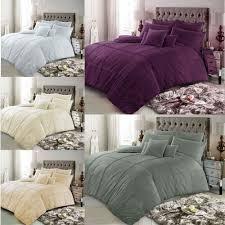 details about duvet cover sets pillowcases double super king single size poly cotton bedding