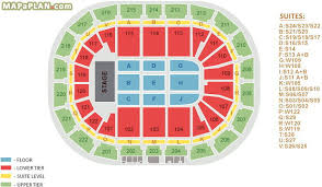 Key Arena Detailed Seating Chart Manchester Arena Seating Plan Detailed Seat Numbers
