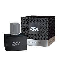 <b>ESTEL ALPHA HOMME</b> BLACK EDITION pour homme Eau de ...