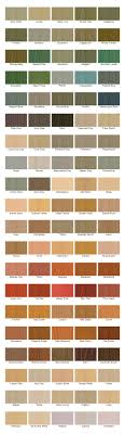Cabot Solid Stain Color Chart Cabot Paint Colors