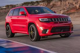 2018 jeep 700 horsepower.  2018 2018 Jeep Grand Cherokee Trackhawk First Drive Fastest SUV Carries A  Badge To Jeep 700 Horsepower P