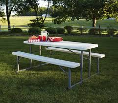 furniture foldable picnic table new garden oasis blow molded folding picnic table foldable picnic
