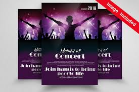 Concert Flyers Templates Church Concert Flyer Templates By Designhub Thehungryjpeg Com