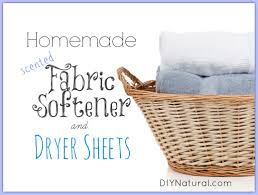 How Much Fabric Softener To Use Homemade Fabric Softener And Dryer Sheets With Natural Scents