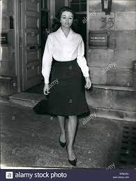 Jun. 06, 1963 - Christine Keller In London Yesterday: Christine Stock Photo  - Alamy