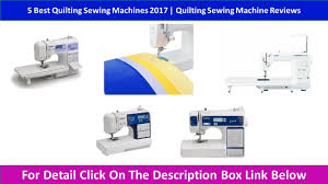 5 Best Quilting Sewing Machines 2017 | Quilting Sewing Machine ... & 5 Best Quilting Sewing Machines 2017 | Quilting Sewing Machine Reviews Adamdwight.com