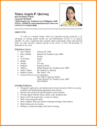 Comprehensive Resume Format Eezeecommerce Com