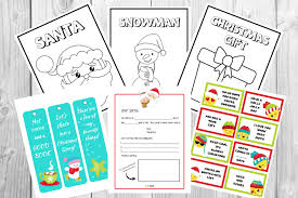You will find links to matching gift tags and gift wrap pages near the card links on the card pages. Christmas Printables For Kids Free Coloring Pages Christmas Cards Christmas Templates And More