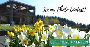 this spring visit the garden take beautiful photos and upload them for a chance to win a dinner escape package from the oregon garden resort