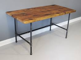 Made to Order - Reclaimed Urban Wood Desk - Industrial Pipe Legs - Free  Shipping -