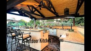 Outdoor Kitchen Design Outdoor Kitchen Designs Youtube
