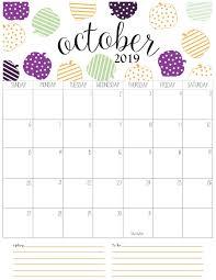 2019 October Calendar Jocelyn Dogomeo Jho_dogomeo On Pinterest