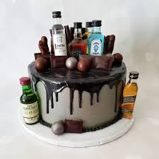Lulu Bell Cakes A Chocolate And Alcohol Themed Cake For Facebook