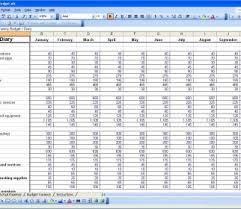 Budget Tracker Template Budget Calculator Free Spreadsheet Daykem Org Excel For Bill Of