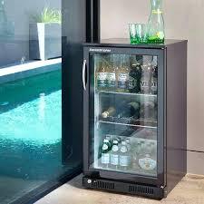 plain door glass door bar fridge in clear door refrigerator r