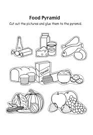 At Food Pyramid Coloring Page Coloring Pages For Children