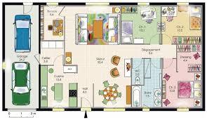 Plan De Maison 3 Chambres Plain Pied Gratuit
