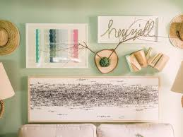 attractive style of cute diy room decor using twing attached on wooden as wall accessories