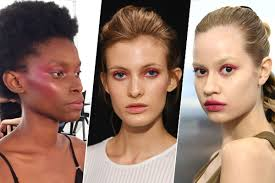 pink eye beauty is trending at fashion week spring 17