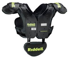 Riddell Girdle Size Chart Riddell Youth Surge Shoulder Pad