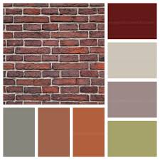 Small Picture house paint colors that go with red brick The Dominant colours