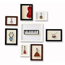 picture frames on wall simple. Get Quotations · GranVela Solid Wood Frame, Wall Photo Irregular, Simple Frame Combination Of Picture Frames On N