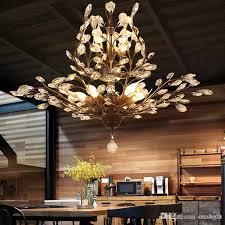 k9 crystal chandelier tree branch pendant lamps vintage crystal chandeliers iron chandeliers modern living ceiling light lighting fixture branch chandelier
