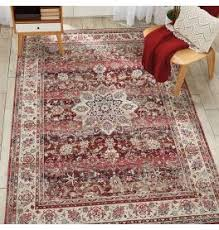Image Shaggy Rug Land Of Rugs Red Rugs Burgundy Maroon Crimson More Land Of Rugs