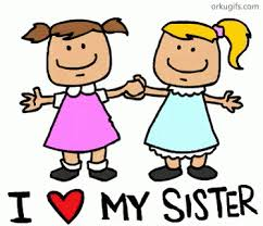 I Heart My Sister GIF Sisters Love Discover Share GIFs Awesome Sis Love My Com