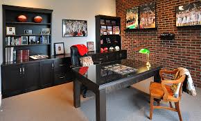 For The Sports Fan... Home Office Space  Pinterest