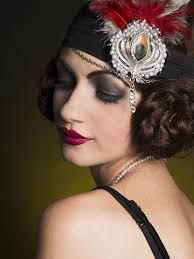 a stunning 1920s look created by makeup artist nicole prager photo danielle blancher