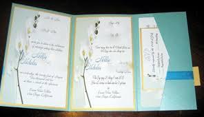 Wedding Invitation Folding Tri Fold Invitation Rome Fontanacountryinn Com