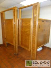 Bathroom Stall Partitions Awesome Oak Bathroom Partitionsstalls Buyer Must R Former Players