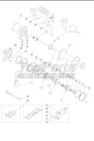 Ch ion 10012 winch assembly parts tool parts direct