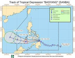Typhoon Tracking Chart Typhoon Basyang Path Map Tropical Storm On Track To Destroy