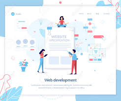 Web Design Specification Document Example Landing Page Template Website Specification Banner Web Development