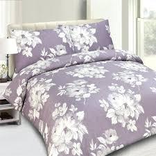 riva home purple flower 100 cotton 200 thread count duvet cover setlavender linen lavender dreams