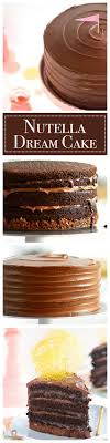 Quick Nutella Icing Recipe Best 25 Nutella Chocolate Cake Ideas Only On Pinterest Nutella