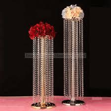 acrylic table top crystal wedding chandelier ldj947