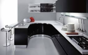Parallel Kitchen Elegant Design Ideas Of Modular Small Kitchen With Deep Blue Color