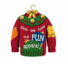 ugly christmas sweater day celebrates self conscious kitsch the ugly christmas sweater day celebrates self conscious kitsch the boston globe