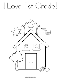 Free Educational Coloring Pages For 1st Graders The Color Panda