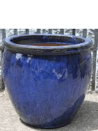 outdoor glazed planters in new york