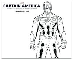 Captain America Coloring Picture Captain Coloring Pages Captain