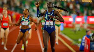 Texas A&M star Athing Mu wins 800m at U ...