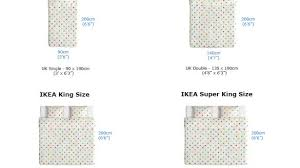 Regular Bed Size Contemporary Ikea Mattress Sizes Chart Uk Standard