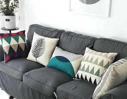 gray couch pillows. Delighful Pillows Gray Couch Pillows Colorful Geometric Decorative Throw For Grey Style Sofa  Cushions Large With Gray Couch Pillows O