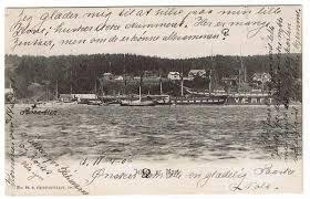 Jeløen pr. Moss. Med skoleskibet Christiania ved værftet. - Selges av  stiska fra Saltstraumen på QXL.no