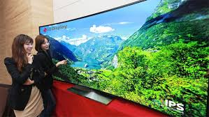 samsung curved tv 105. curvaceous beauties: samsung and lg unveil 105-inch lcd hdtvs ahead of ces curved tv 105 u